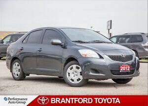 2012 Toyota Yaris Automatic, Trade In, Certified, Power Windows