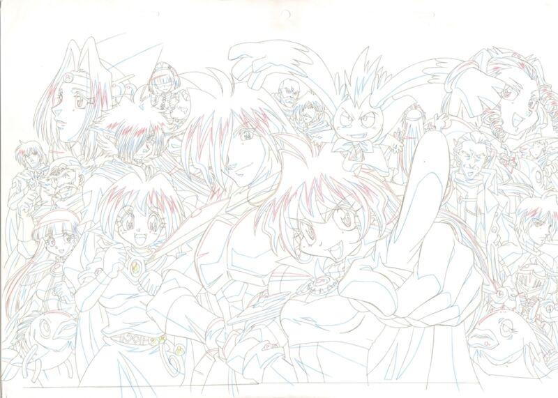 Anime Douga not Cel Slayers (EYECATCH) #1