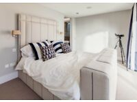 Kind size bed by Charlotte James Interiors