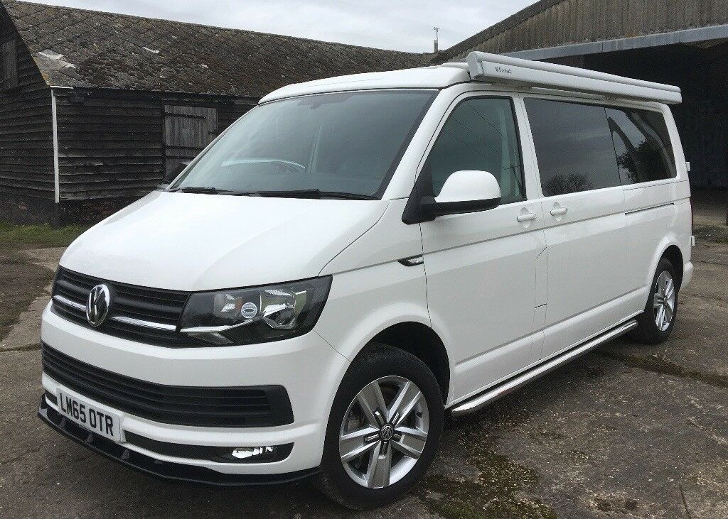 2015 vw transporter t6 highline camper campervan auto lwb. Black Bedroom Furniture Sets. Home Design Ideas