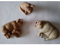 Large collection of pig ornaments - 20 items