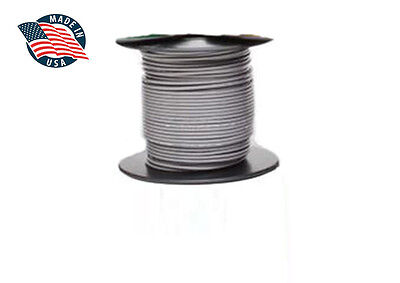 100ft Mil-spec High Temperature Wire Cable 16 Gauge Gray Tefzel M2275916-16-8