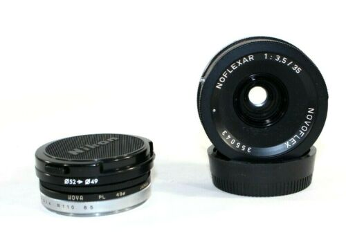 NOVOFLEX NOFLEXAR 35mm f/3.5 MACRO LENS with 2 Filters