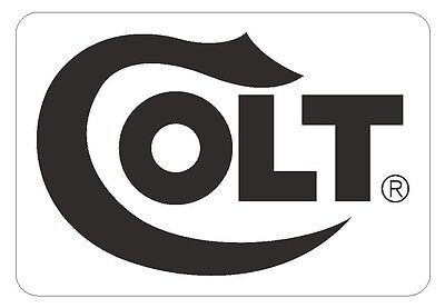 Colt Sticker Gun WEAPON Rifle PISTOL Ammo R233 CHOOSE SIZE FROM DROPDOWN