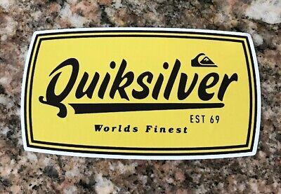 Quiksilver Sticker - Surf Ski Snowboard Skate Sports Apparel - New Ski Skate