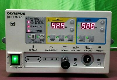 Olympus Ues-20 Electrosurgical Generator Without Foot Switch.