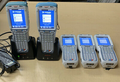 Lot Of 5 - Honeywell Dolphin 99ex Handheld Pc Mobile Barcode Scanner 99exl0