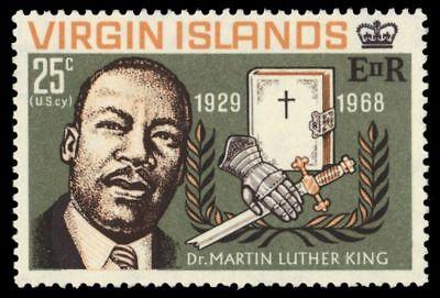 VIRGIN ISLANDS 193 (SG227) - Martin Luther King Jr. Memorial (pa64843)
