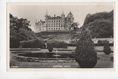 Dunrobin Castle Sutherland [A5592] Vintage RP Postcard 158b
