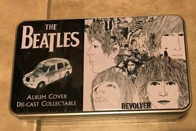 The Beatles Revolver Album Cover Corgi Die Cast Car in Metal Tin NEW sealed