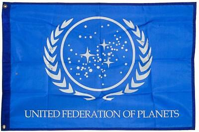 USA SELL Star Trek United Federation of Planets Banner Flag 3X5FT Free Shipping