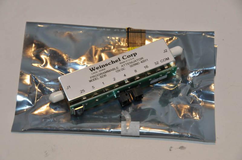 Weinschel Programmable Attenuator Model 6230  NEW!
