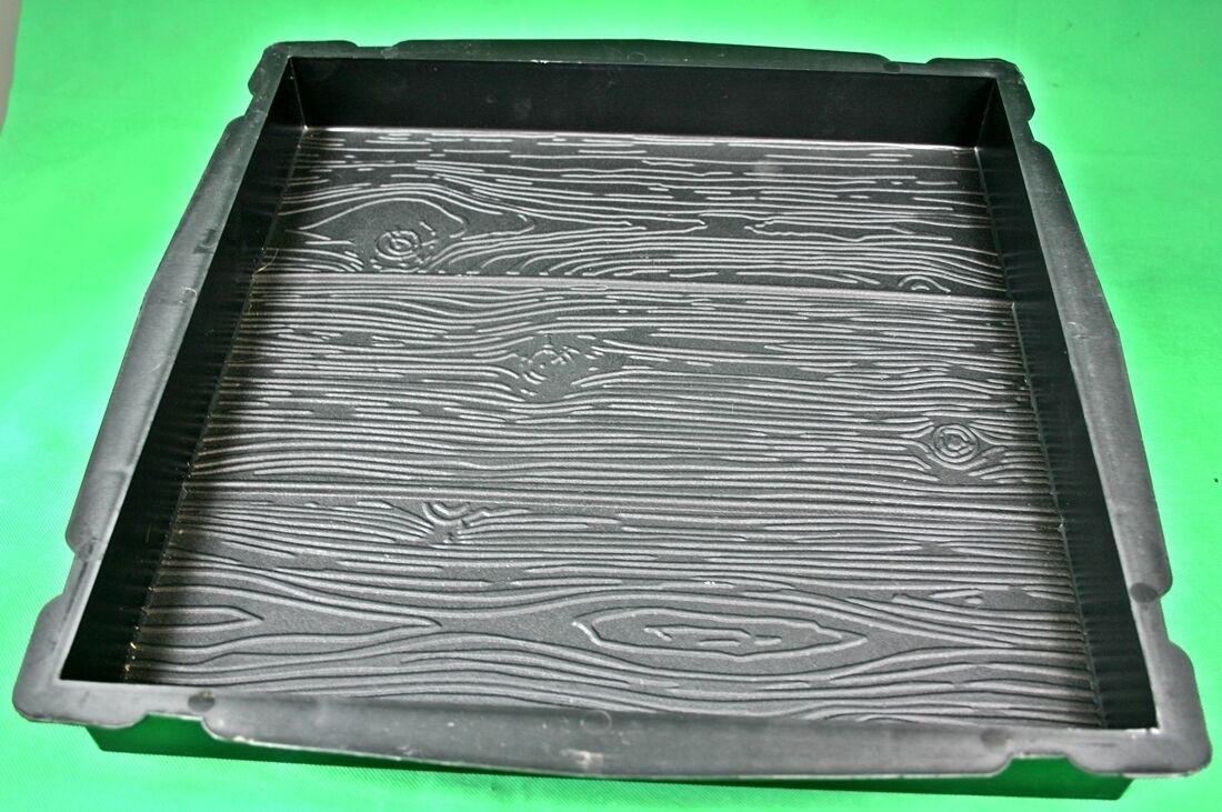 Stampo cemento matrice Forma pavimento Effetto LEGNO WOOD Effect concrete mold