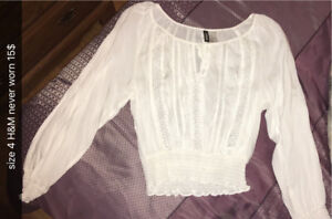 Women's Clothing Lot Shirts sweaters and more