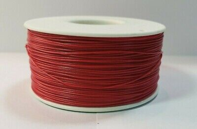 30 Awg Gauge Stranded Wire Red 25 Ft 0.0100 Ptfe 600 Volts Usa Soldship