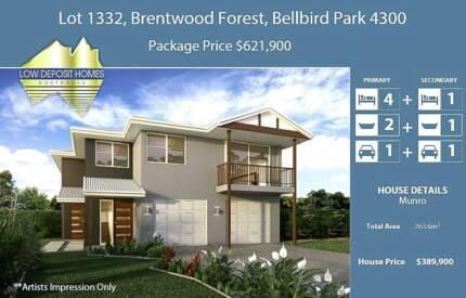 Dual Key Brentwood Forest Bellbird Park QLD 5Bed + 3Bath + 2Car