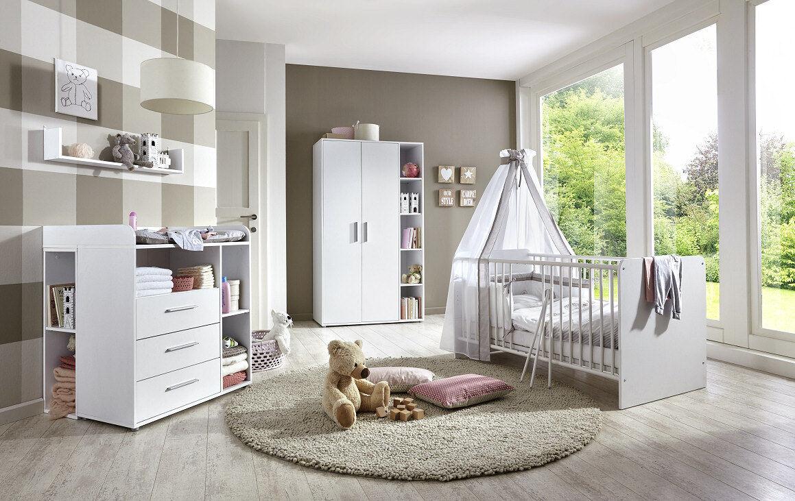 Gewaltig Kinderzimmer Komplett Das Beste Von Babyzimmer Set Babymöbel Komplettset Umbaubar Kim 2