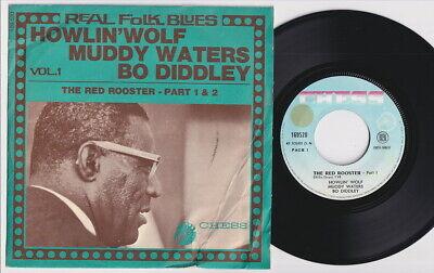 HOWLIN' WOLF * MUDDY WATERS * 1968 MOD R&B BLUES * French 45 * Listen!