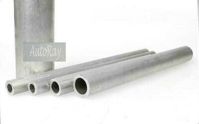 12 300mm Long Aluminum Tube Hollow Pipe Od. 25mm 0.98 X Id 210.5121522 Mm