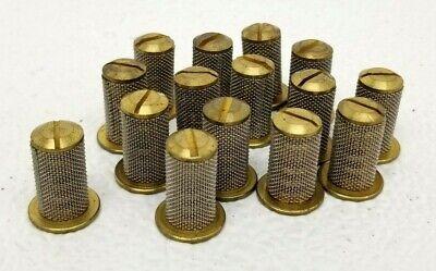 Lot Of 15 Vintage Teejet Strainer 100 Mesh Nos