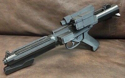 "3D Printed StarWars E11 Stormtrooper Gun Blaster it's about 19""inches long"