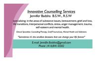 COUNSELLING SERVICES *** Best Rates***