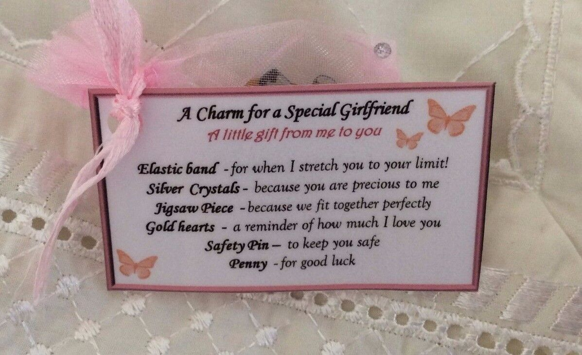 I Love You Keepsake Valentines Gift Idea For My Girlfriend Wife Birthday
