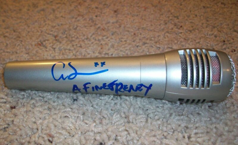 ALISON SUDOL A FINE FRENZY SIGNED AUTOGRAPH NEW MICROPHONE w/EXACT PROOF