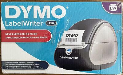 Dymo Labelwriter 450 Thermal Label Barcode Printer Receipt Usb
