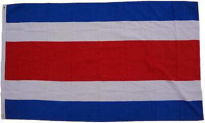 Bandiera Costa Rica 90 x 150 cm sollevamento tempesta WM Coppa del mondo