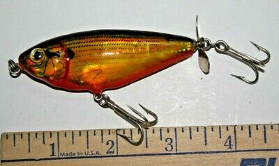 """FISHING TACKLE TAKTIX JOINTED LURE 4.5/"""" BLACK BASS"""