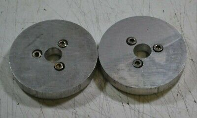 One Emco Compact 5 3 18 Aluminum Face Plate For Chuck Or Other Mounting