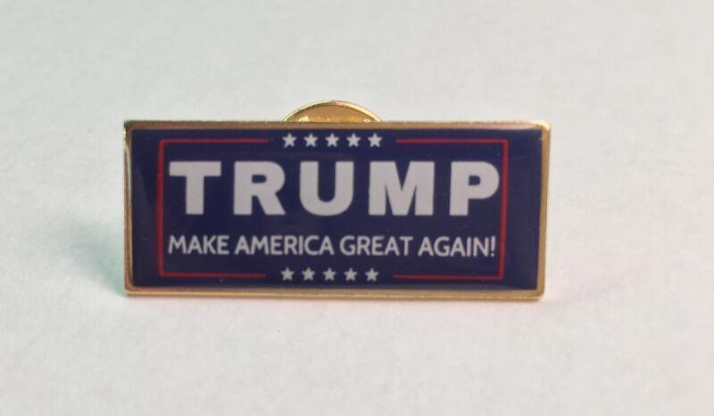 Trump Make America Great Again MADE IN USA President 2017 Patriotic Lapel Pin
