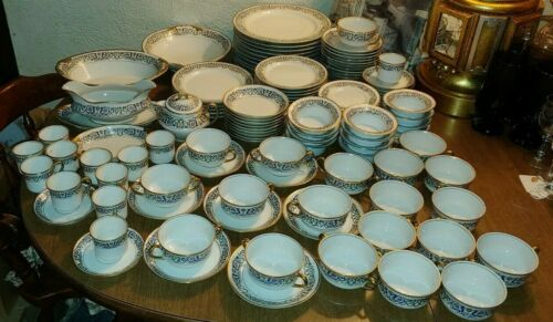 Large Lot of 130 Limoges M. Redon Vintage China Dinnerware Set .. France