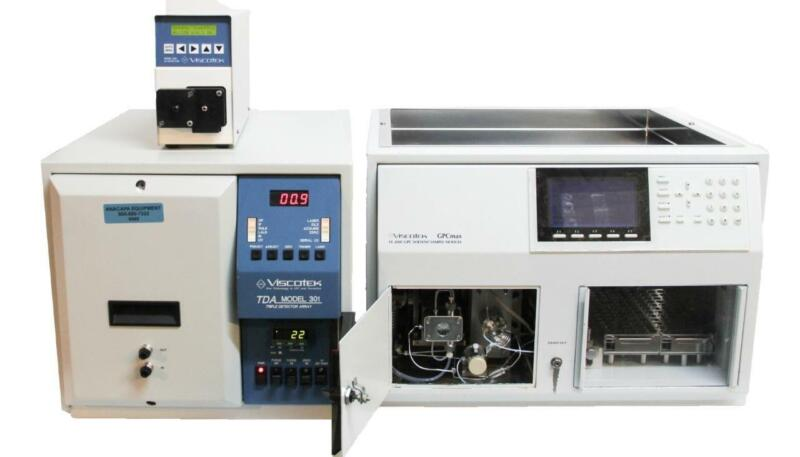 Viscotek VE 2001 GPC Max 2501 UV Detector & TDA 301 Chromatography System (6960)
