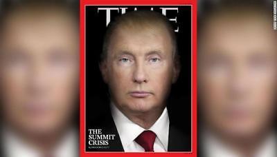 TIME Magazine 30 JULY 2018 Vladimir Putin & Donald Trump The Summit Crisis NEW