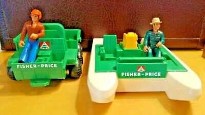 Vintage Fisher Price Adventure People Wilderness Patrol #307 -1970s - Incomplete