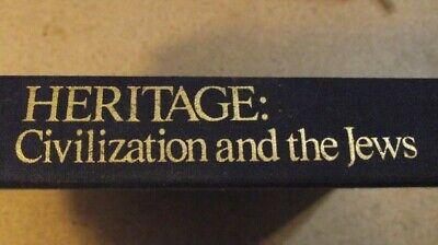 Heritage : Civilization and the Jews (1984, Hardcover) Abba Eban. Summit Books