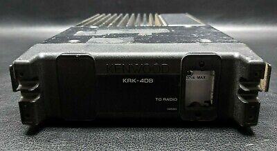 Kenwood Tk730 Tk-730h Krk-4db Vhf Dash Mount Mobile Two-way Radio