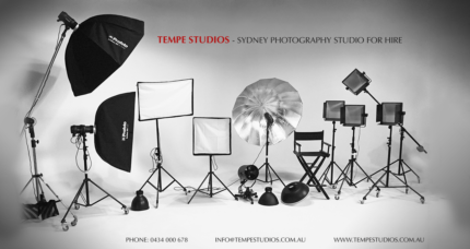 Sydney Photography Studio for Hire I Tempe Studios for hire