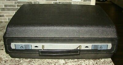 Smith Corona Typewriter Case Manuals Only Memory Correct 300 Carrier Hard Shell
