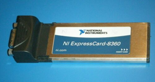 NI ExpressCard-8360, MXI-Express Interface Card, National Instruments *Tested*
