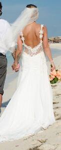 Robe de mariée dos ouvert - UNIQUE