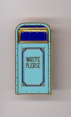 Disney Disneyland New Orleans Square Trash Can Cast Exclusive Pin from 2001