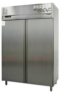 Sanden double door stainless steel fridge Granville Parramatta Area Preview