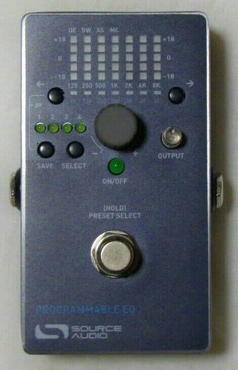 Used Source Audio SA170 Programmable EQ Guitar Pedal  - $129.99