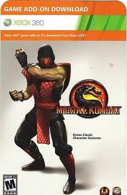 Ermac Classic Character Costume Mortal Kombat Xbox 360 DLC - NEW - FAST SHIPPING](Mortal Kombat Characters Costumes)