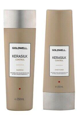 Kit Shampoo + Conditioner Goldwell Kerasilk Control Capelli Crespi