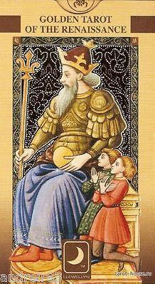 Tarot Cards - Golden Tarot of Renaissance Florentine 78 Cards + Instruction TC17