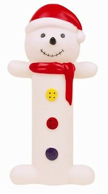 Christmas Dog Puppy Toy Squeaky Snowman Novelty Character Gift Chew